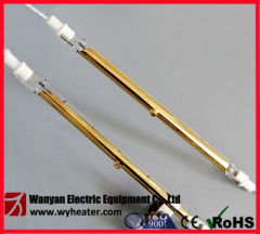 Gold Reflector Quartz Heating Lamp