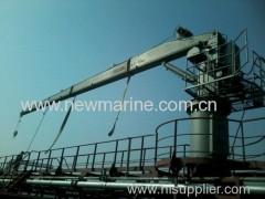 Hydraulic Crane e Davit (Fondo Crane / Hose Consegna Crane)