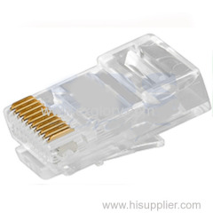 Quality Assurance UTP Modular Male Plug Connector/Crystal Head Forrj-45 10p10c Cat 5e