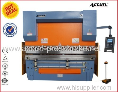 200T 5000mm steel sheet plate full CNC 4 Axis hydraulic press brake