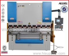 Full CNC synchronized carbon steel sheet bending machine 40T