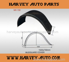 Mudguard Fender Mudapron for trucks and trailers 1520*640*730mm