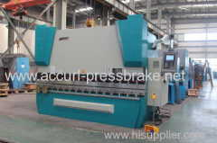 125T 2500mm steel sheet plate full CNC 4 Axis hydraulic press brake
