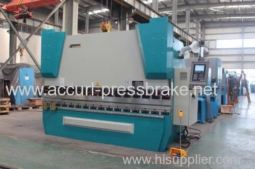 250T 5000mm steel sheet plate full CNC 4 Axis hydraulic press brake