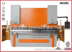 Electro-hydraulic steel plate press brake