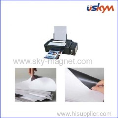 A4 glossy finish magnetic paper