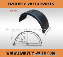 Mudguard Fender Mudapron for trucks and trailers 1270*520*640mm