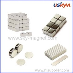 Sintered Neodymium permanent Magnets