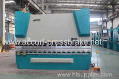 125T 3000mm Length 6 mm thickness hydraulic Servo motor WC67Y Series CNC Press Brake