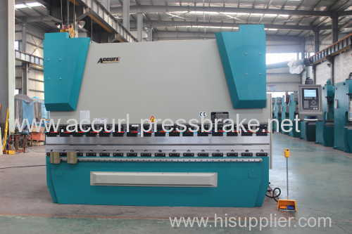 Electro-hydraulic CNC Carbon Steel plate bending machine