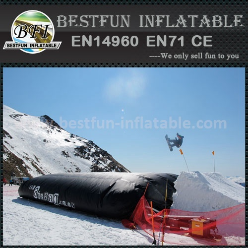 Safety Air Bag for Freestyle Jumping