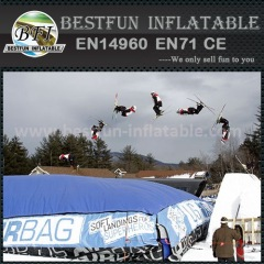 PVC Inflatable dry-slope Jump Air Cushion