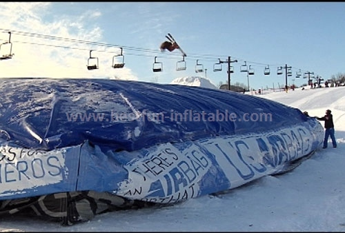 Logo Print Mountain Ski Air Bag