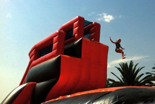 Printing Logo Free Climbing Jump Air Cushion