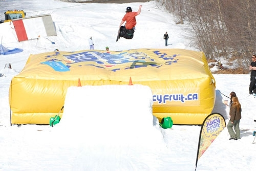 PVC Inflatable Skateboards Air Cushion