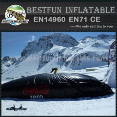 Biggest Snowboarding Air Bag