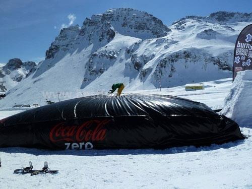 Soft Air Bag for Snowboarding