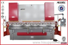 125T 3200mm steel sheet plate full CNC 4 Axis hydraulic press brake