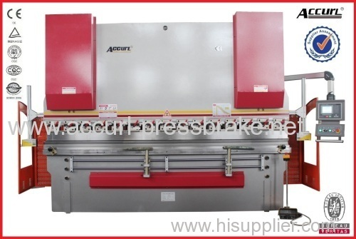 80T 2500mm Length Sheet Metal CNC Bending Machine