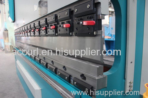 Electric hydraulic full CNC synchro press brake