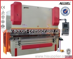 100T 3200mm steel sheet plate full CNC 4 Axis hydraulic press brake