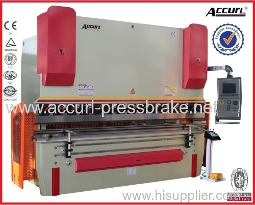 2500 length Easy Operate Germany EMB PIPE 5mm thickness Full CNC Control Hydraulic Press Brake