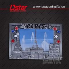 Promotional price metal souvenir picture frame