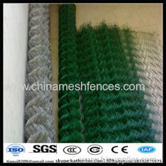 grass green chain link wire mesh