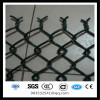 65x65 mm plastic pvc coated chain link wire mesh fence