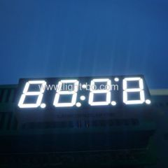 "4 digit 10mm 7 segment white ; white 4 digit 0.39"" led display;"