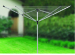 4 arms aluminum rotary airer
