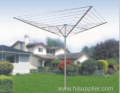 4-arm outdoor paraplu-type droogmolen wasserij rack