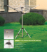 3-arm outdoor marketable rotary laundry rack