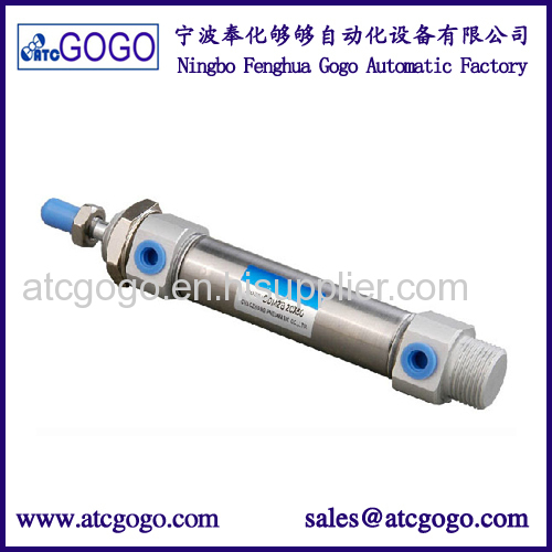 smc type small aluminum compact pneumatic thin air cylinder CQ2