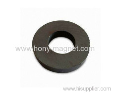Rare earth ndfeb radially oriented ring magnet