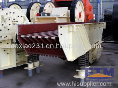 Vibrating Feeder in Stone Production Line