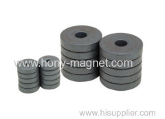 Bonded radial neodymium ring permanent magnet