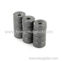 Big ring bonded ndfeb rotor permanent magnet