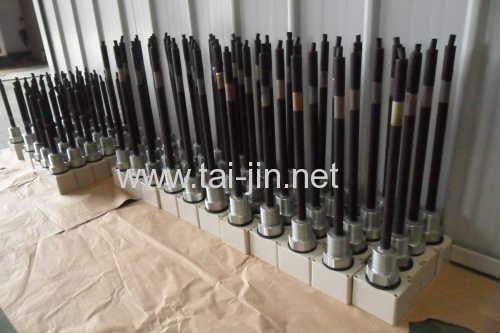 IrO2/Ta2O5 Coated Titanium Probe Electrodes
