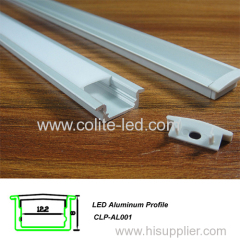 Slim 8mm recessed Aluminum profile