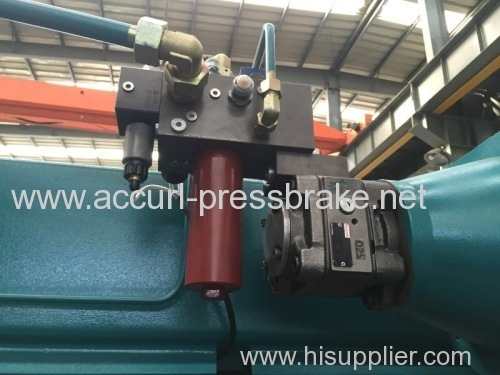 Full CNC hydraulic metal press brake machine