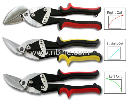 10  Heavy Duty Tin Snips with soft handle