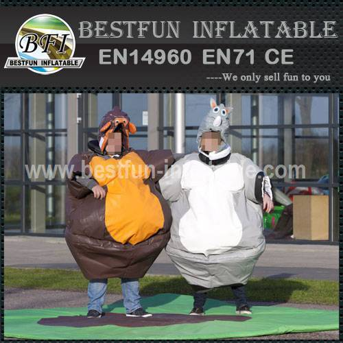 Adult inflatable sumo wrestling suits