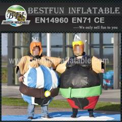Adult inflatable sumo suits