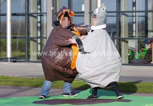 Costume Sumo Monkey and Rhino