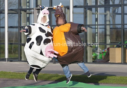 Sumo Costume Cow and Bull