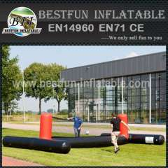 Small inflatable outdoor soccer