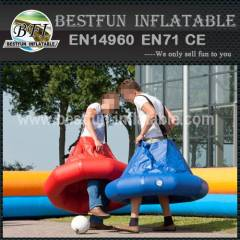 Popular inflatable soccer suit