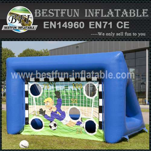 Exciting inflatable soccer goal