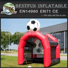 Inflatable promotion soccer goal